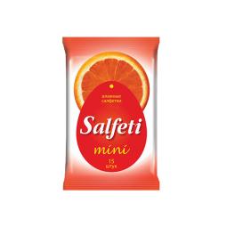 фото Салфетки влажные Salfeti Mini «Лимон» №15