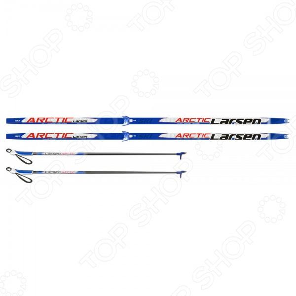 фото Комплект лыжный Larsen Arctic Step 75 мм, купить, цена