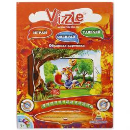 Купить Картинка объемная Vizzle Лиса и колобок