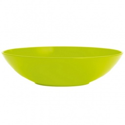 фото Тарелка глубокая Zak!Designs BBQ. Цвет: зеленый
