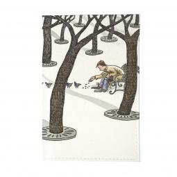 фото Обложка для автодокументов Mitya Veselkov «Парень в зимнем парке»