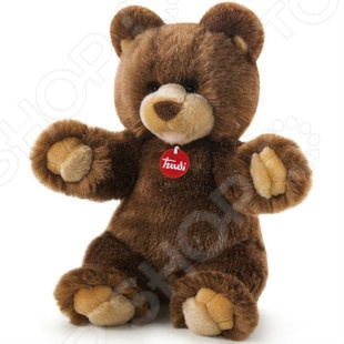 Мягкая игрушка Trudi Медведь ГедеонМягкие игрушки<br>Игрушка мягкая Trudi Медведь Гедеон это замечательный подарок вашему малышу! Игрушка изготовлена из высококачественного гипоаллергенного материала, который абсолютно безвреден для ребенка. Забавный зверек с пушистыми лапками украсит любую детскую комнату и принесет радость и веселье во время игр. Trudi Медведь Гедеон поможет развить тактильные навыки, зрительную координацию и мелкую моторику рук. Изделие можно стирать в стиральной машинке при температуре не выше 30 градусов.<br>