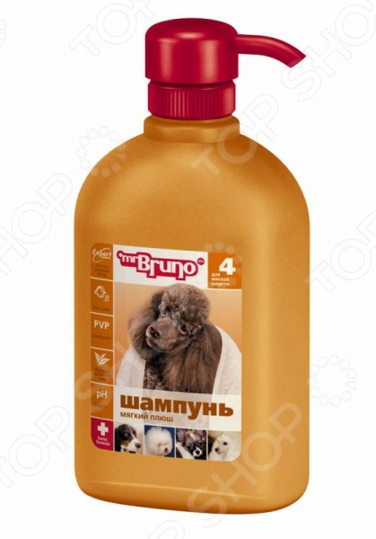 Шампунь для собак Mr.Bruno с брелоком «Мягкий плюш»