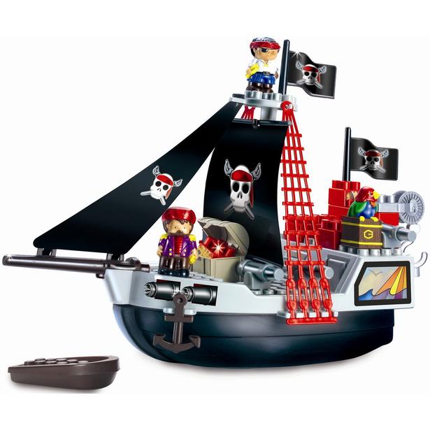 фото Конструктор Ecoiffier «Пиратский корабль»