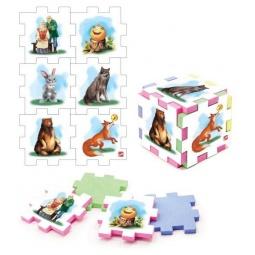 фото Пазл-кубик Нескучный кубик «Колобок»