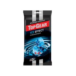 фото Салфетки влажные освежающие Top Gear Ice Effect