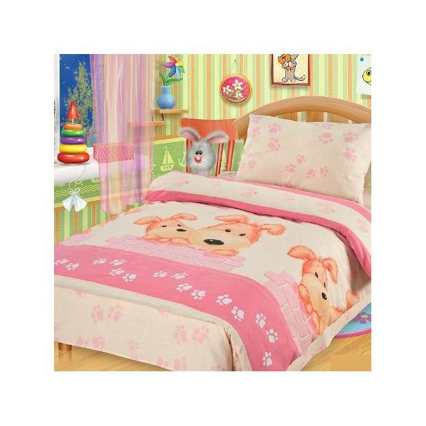 фото Детский комплект постельного белья Непоседа Собачки