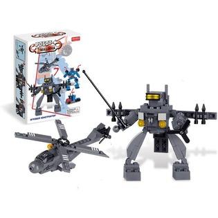 Купить Конструктор игрушечный Zhorya «Робот-вертолет»