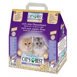 фото Наполнитель для кошачьего туалета Cat's Best Nature Gold. Вес упаковки: 5 кг. Вместимость (в литрах): 10 л