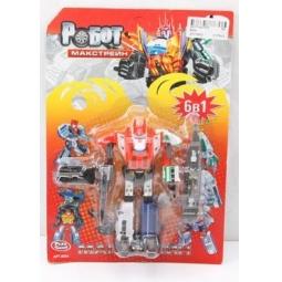фото Игрушка-трансформер PlaySmart «Робот. Макстрейн 5в1»