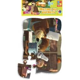 фото Пазл магнитный Vladi Toys «Миша повар»