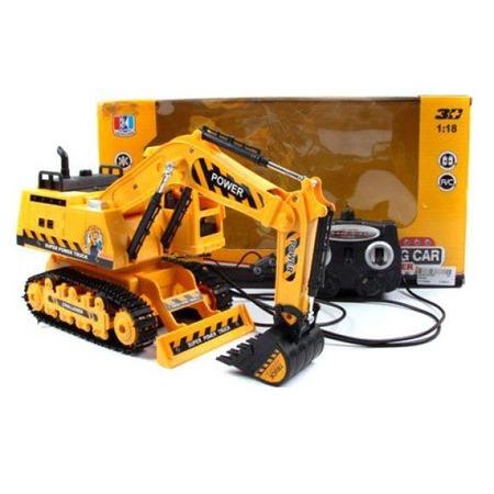Купить Машинка на радиоуправлении Shantou Gepai «Экскаватор» 689-80