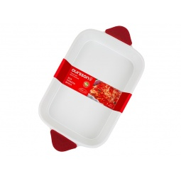 фото Форма для выпечки керамическая Oursson BW3308C/RD