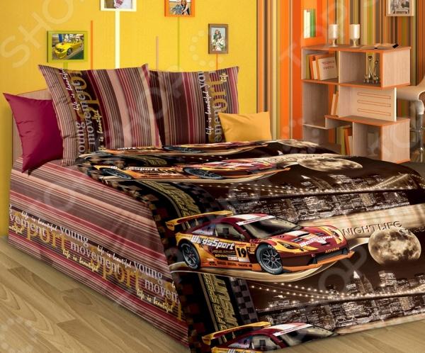 Детский комплект постельного белья Бамбино «Неон» детский комплект постельного белья бамбино волшебницы