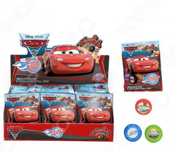 Колеса коллекционные Dickie Cars с изображением главных героев. В ассортименте