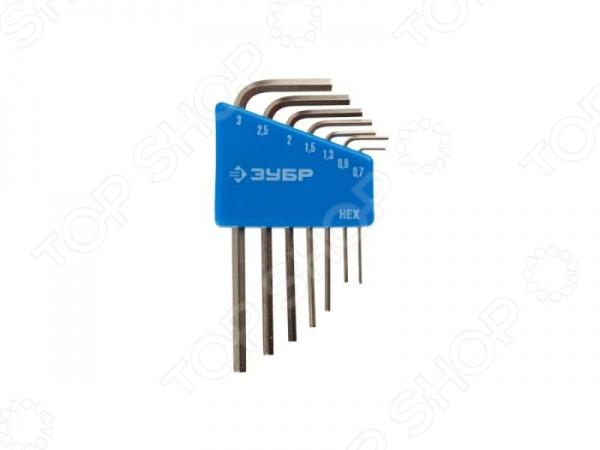 Набор ключей имбусовых для точных работ Зубр «Эксперт Мини» 27471-H7