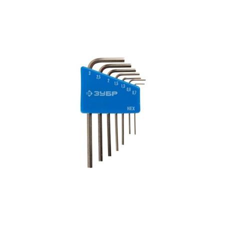 Купить Набор ключей имбусовых для точных работ Зубр «Эксперт Мини» 27471-H7