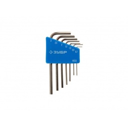 фото Набор ключей имбусовых для точных работ Зубр «Эксперт Мини» 27471-H7