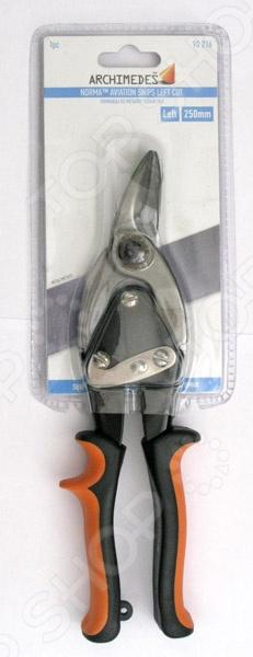 Ножницы по металлу левого реза Archimedes 90216 зубило по металлу archimedes 90451