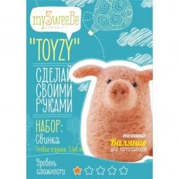 фото Набор для изготовления мягкой игрушки mySweeBe «Свинка»