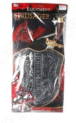 Набор древнего воина Shantou Gepai 8673 «Оружие рыцаря»Игровые наборы для мальчиков<br>Набор древнего воина Shantou Gepai 8673 Оружие рыцаря даст малышу возможность погрузиться во времена средневековья и попробовать себя в роли отважного рыцаря. В комплект входит щит, меч и рыцарская накидка. Игрушки выполнены из высококачественного пластика, отличаются великолепной проработкой и особым вниманием к деталям. Предназначено для детей в возрасте от 3-х лет.<br>