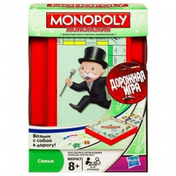 фото Игра дорожная Hasbro Монополия