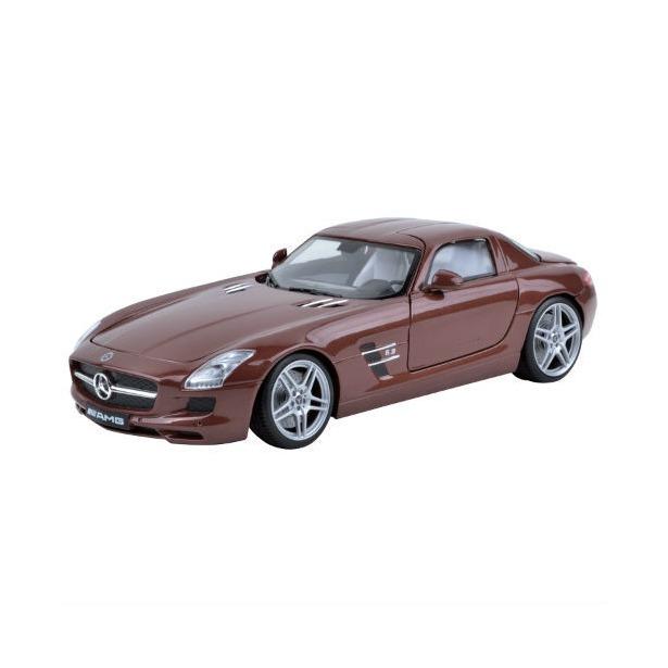 фото Модель автомобиля 1:18 Motormax Mercedes-Benz SLS АMG. В ассортименте