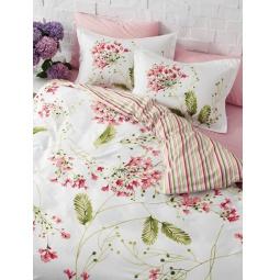 фото Комплект постельного белья TAC Blossom. Евро. Цвет: розовый