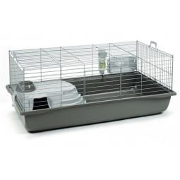 фото Клетка для кролика Beeztees Deluxe. Габариты: 1180x645x470