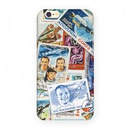 фото Чехол для iPhone 6 Mitya Veselkov «Космос (марки)»