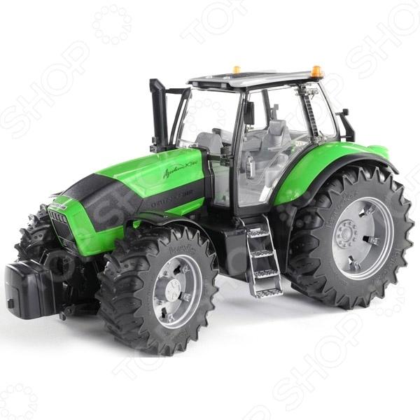 Трактор игрушечный Bruder Deutz Agrotron X720 трактор игрушечный bruder claas xerion 5000