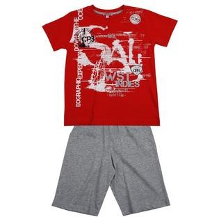 Купить Комплект: футболка и шорты Zeyland Forest Zeyland. Цвет: красный