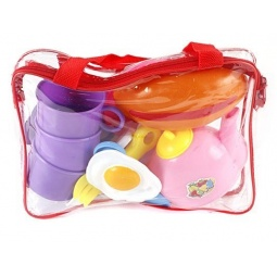 фото Набор посуды игрушечный Shantou Gepai «Завтрак»