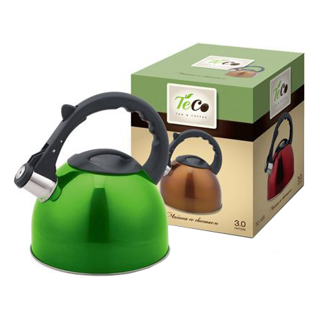 Купить Чайник со свистком Teco TC-103. В ассортименте