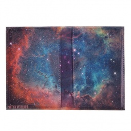 фото Обложка для паспорта двухсторонняя Mitya Veselkov «Голубая туманность»