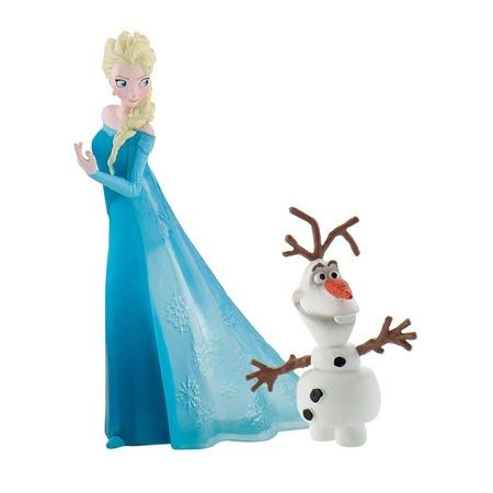 Купить Набор фигурок-игрушек Bullyland «Эльза и Олаф»