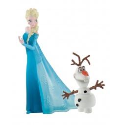 фото Набор фигурок-игрушек Bullyland «Эльза и Олаф»