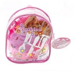 фото Набор посуды игрушечный Shantou Gepai в рюкзаке 629152