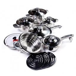 фото Набор кухонной посуды в подарочном чемодане SHNAIDER SD-1005