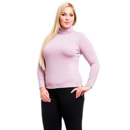 фото Водолазка Mondigo XL 204. Цвет: розовый. Размер одежды: 48