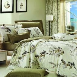 фото Комплект постельного белья Amore Mio Flora. Provence. 2-спальный