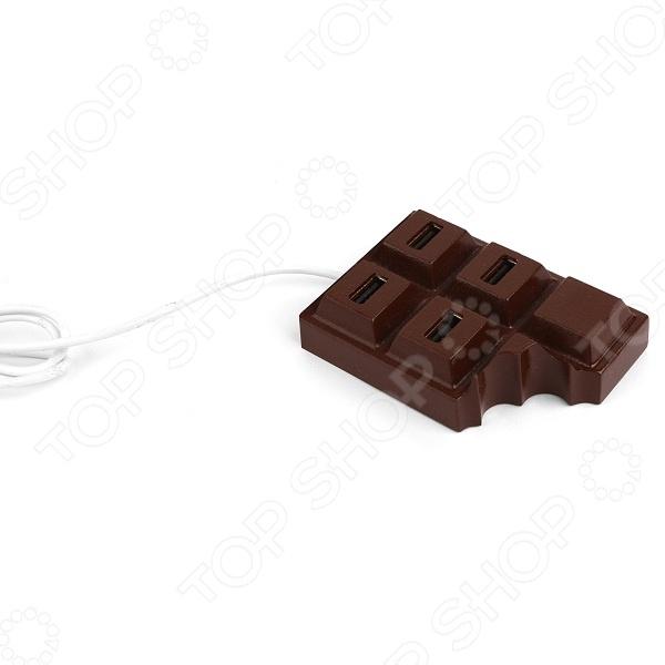 фото USB-хаб Kikkerland «Шоколадка», Другие аксессуары для компьютерной техники