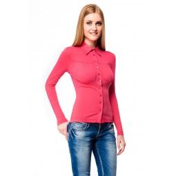 фото Блузка Mondigo 517. Цвет: ярко-розовый. Размер одежды: 44