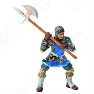 Фигурка Bullyland Рыцарь с секиройФигурки супергероев и других персонажей<br>Фигурка Bullyland Рыцарь с секирой понравится любому мальчику. Ведь какой мальчишка не любит играть с фигурками солдатиков или средневековых рыцарей, представляя себя тоже участником великих битв. С таким рыцарем можно перенестись в мир Средневековья и устроить свой собственный турнир. Фигурка рыцаря на коне станет достойным пополнением коллекции миниатюр, при этом ее оценят не только дети, но и взрослые.<br>
