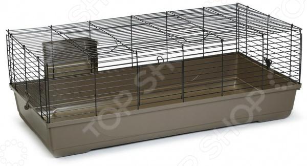 Клетка для кролика Beeztees Baldo это один из самых важных аксессуаров, поэтому при покупке нового домика для вашего питомца стоит быть особенно внимательным. Выбирая клетку, надо уделить особое внимание ее размерам, ведь крайне важно, чтобы четвероногому другу в ней не было тесно. Также немаловажными являются материалы изготовления и комплектующие. Представленная модель является образцом того каким должно быть жилье грызуна, т.к. при ее разработке учитывались все особенности строения тела этого мелкого животного. Клетка Beeztees Baldo позволит организовать домашнему любимцу комфортное место для жилья, игр и отдыха. Тут можно разместить поилку, кормушку и место для отдыха приобретается отдельно . Корпус выполнен из металла, что гарантирует долгий срок службы модели, а съемный пластиковый поддон существенно облегчает уборку.