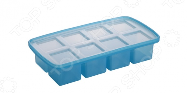 Форма для льда «Кубики» XXL Tescoma MyDrinkФормы для льда<br>Форма для льда Кубики XXL Tescoma MyDrink будет незаменима для тех, кто ценит совершенство во всем. Форма специально предназначена для создания уникальной формы люда для различных напитков и коктейлей. Ровный и аккуратный внешний вид льдинок-кубиков привлечет гостей любой вечеринки, и ваши напитки приобретут ещё большую популярность. Благодаря тому, что форма выполнена из силикона больше нет нужды использовать подручные средства для того, чтобы вытащить заветный морозный кусочек, мягкая и гибкая форма позволит отправить лед в бокал с напитком без особых усилий. Форма дополнительно оснащена специальной водонепроницаемой крышкой, поэтому её можно хранить в морозильной камере даже перевернутой. Чтобы льдинки были более прозрачными используйте питьевую или фильтрованную воду. Форма подходит для мытья в посудомоечной машине.<br>