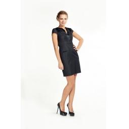 фото Платье Mondigo 9662. Цвет: черный. Размер одежды: 44