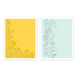 фото Форма для эмбоссирования Sizzix Textured Impressions Цветочная лоза