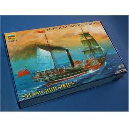 фото Сборная модель Звезда колесный пароход «Сириус»