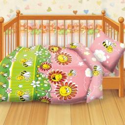 Купить Детский комплект постельного белья Кошки-Мышки Пчелки